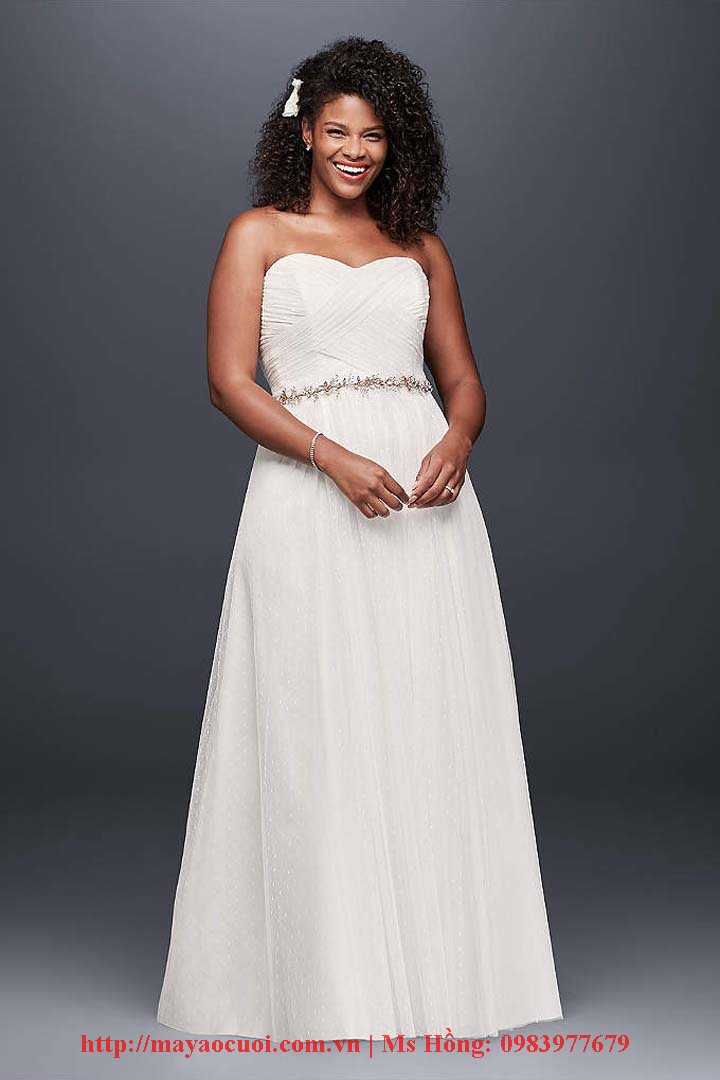 Plus Size Wedding Dresses & Bridal Gowns with sleeves vintage cheap